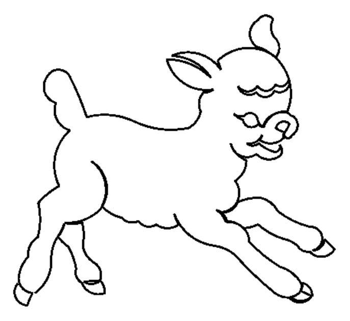 Little Lamb Motif