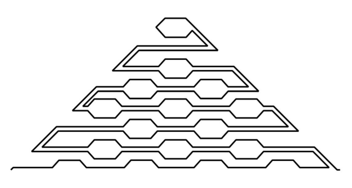 Modern Honeycomb p2p Triangle