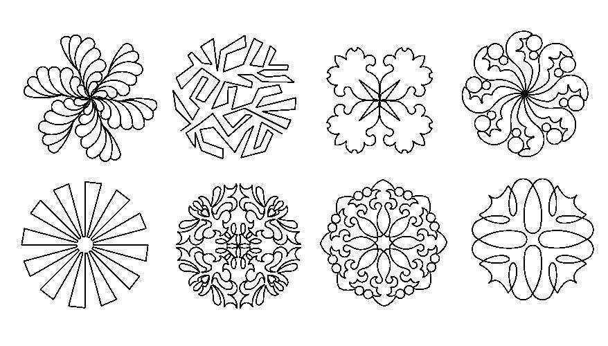 Round Pattern Set