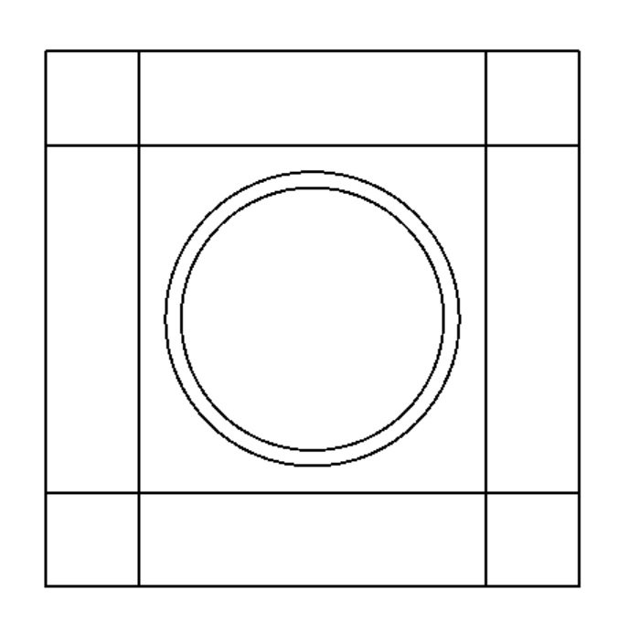 Wholecloth 40 inch Round Center Template
