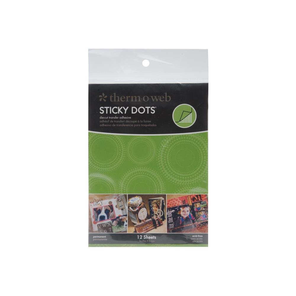 STICKY DOTS DIE CUT ADHESIVE