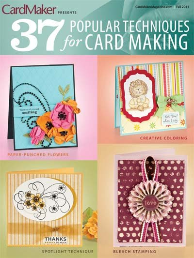 37 Popular Techniques for Card Making