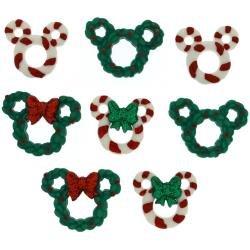 DISNEY - Mickey & Minnie Wreaths and Canes