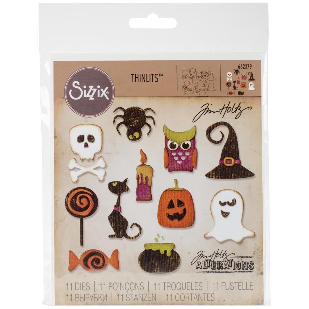 THINLITS - Halloween Icons
