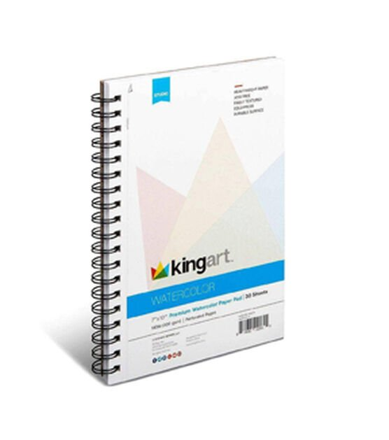 King Art Water Color 7x10 Paper Pad