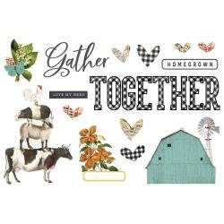 Farmhouse Garden - Simple Vintage Gather Together Page Pieces
