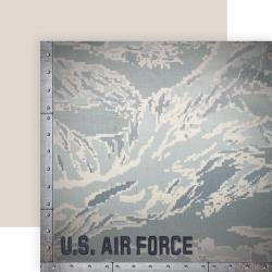 12X12 Double Sided Air FOrce Officially Licensed