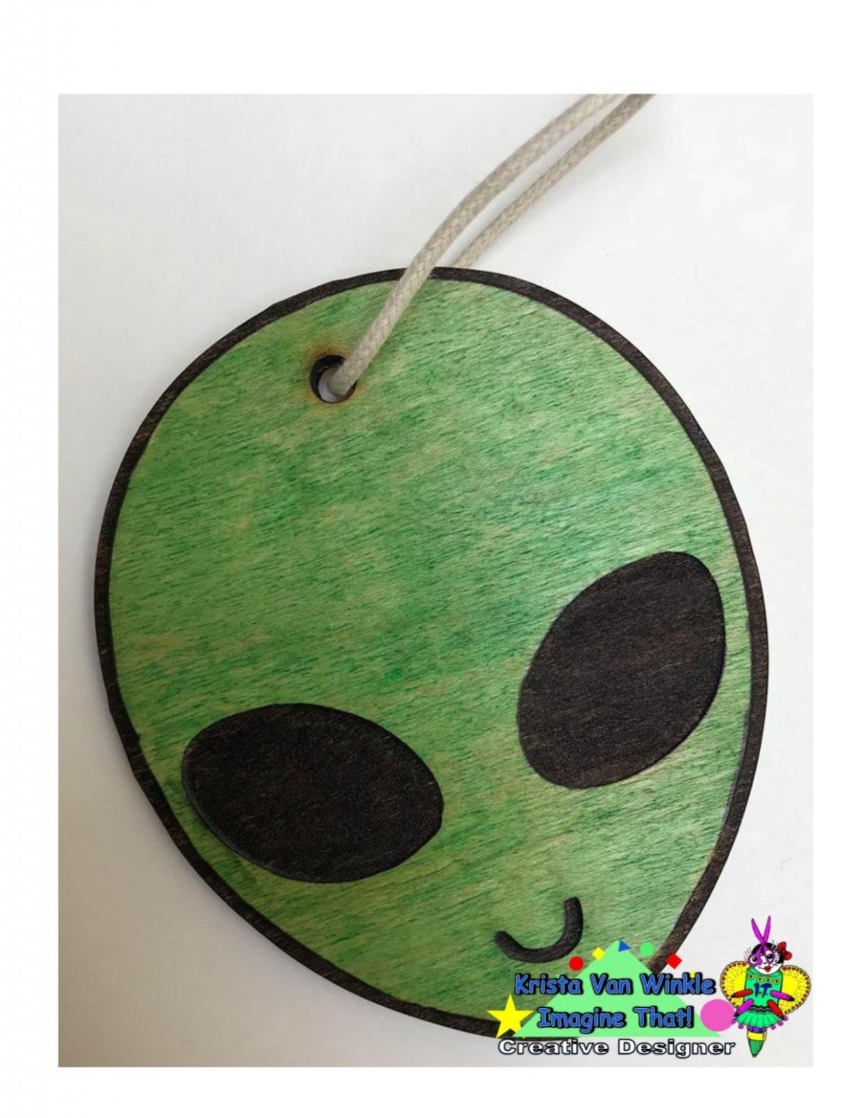 Ornament - Alien in Color