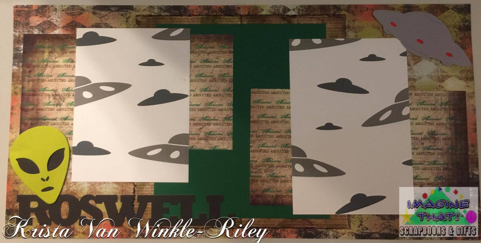 Roswell Double Page Kit