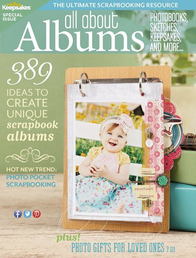 CREATING KEEPSAKES - All About Albums