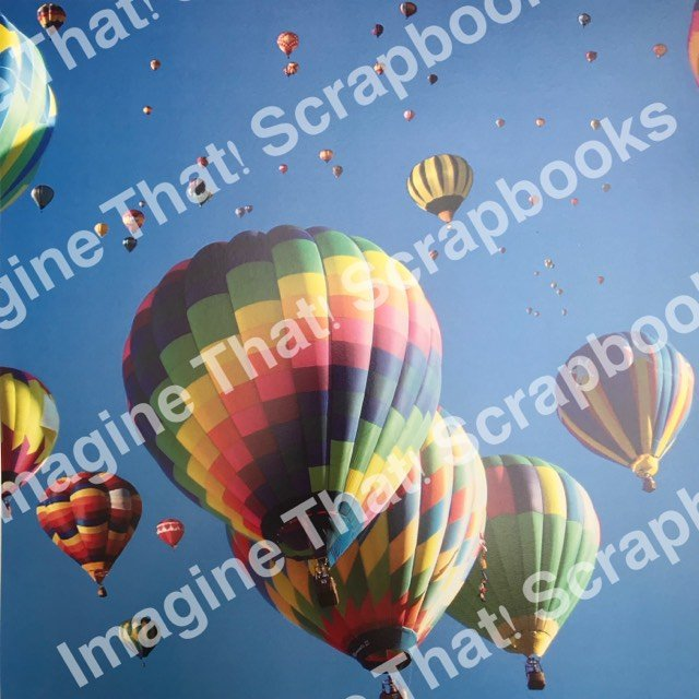 CUSTOM Paper - Balloon Fiesta 1