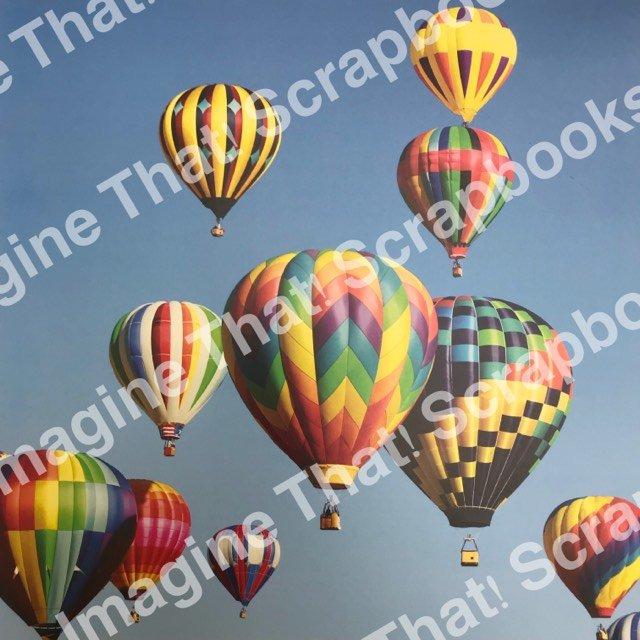 CUSTOM Paper - Balloon Fiesta 2