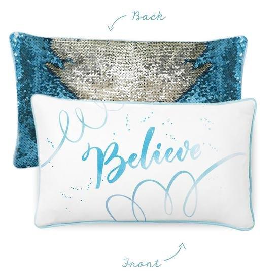 Mermaid Pillow - BELIEVE