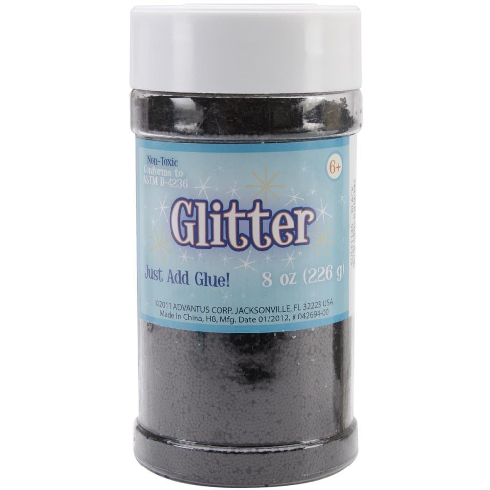 Glitter - Black 8oz