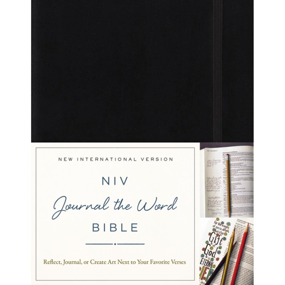 BIBLE JOURNALING - NIV Holy Bible For Girl Hardcover Black