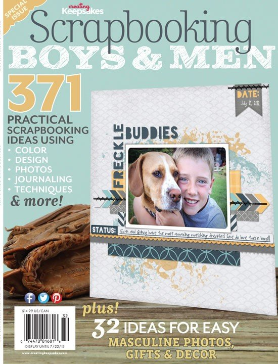 CREATING KEEPSAKES - Scrapbooking Boys & Men