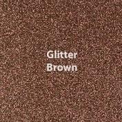 Vinyl - Heat Transfer - Glitter - Brown- 12 x 20