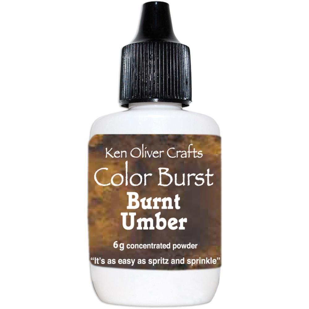 COLOR BURST - Burnt Orange