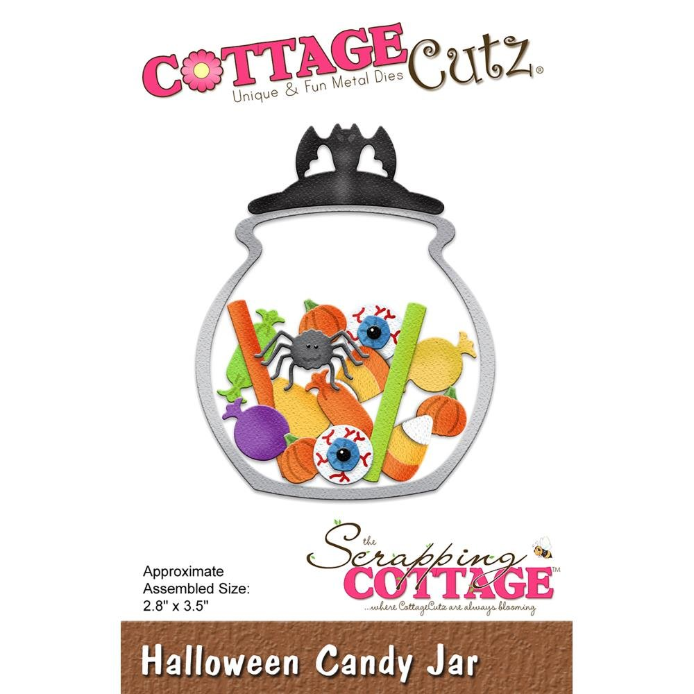 DIE - Halloween Candy Jar