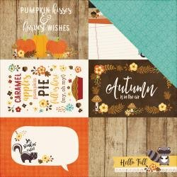 A PERFECT AUTUMN - 4x6 Journaling Cards