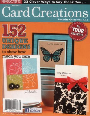 PAPER CRAFTS - Card Creations for Favorite Occasions Vol. 2