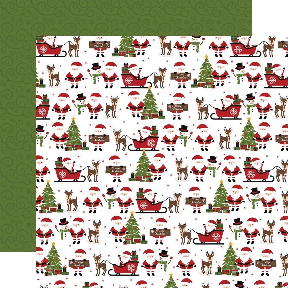 Echo Park (Double Sided 12x12) Christmas Magic North Pole