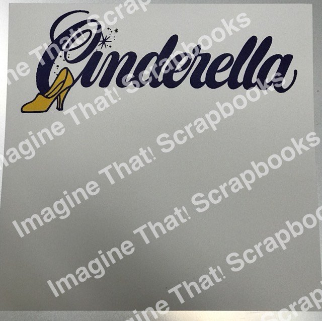CUSTOM Paper - Cinderella Title