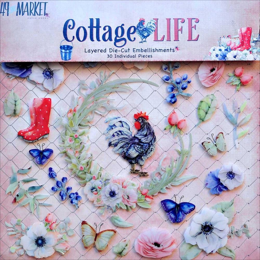 COTTAGE LIFE - Layered Die Cuts
