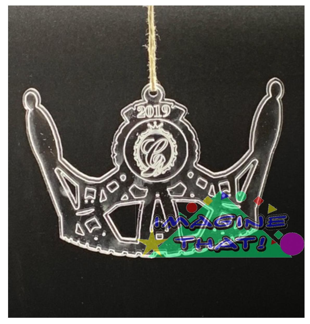 Cinderella Crown Ornament