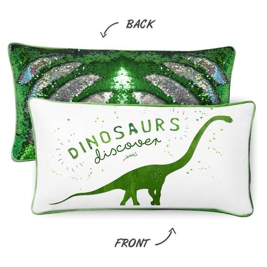 Mermaid Pillow - DINOSAURS DISCOVER