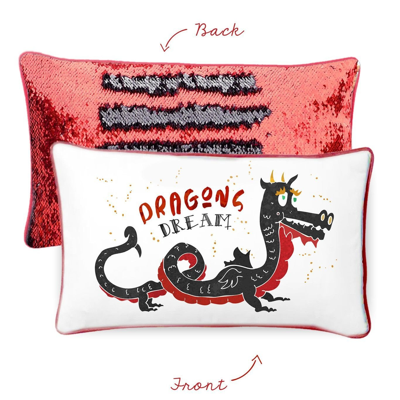 Mermaid Pillow - DRAGONS DREAM