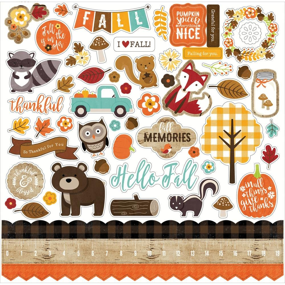 A PERFECT AUTUMN - Element Stickers