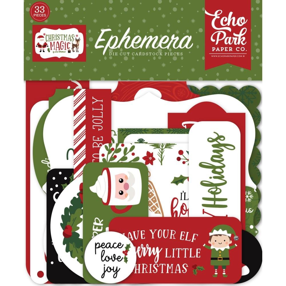 Echo Park Christmas Magic Ephemera