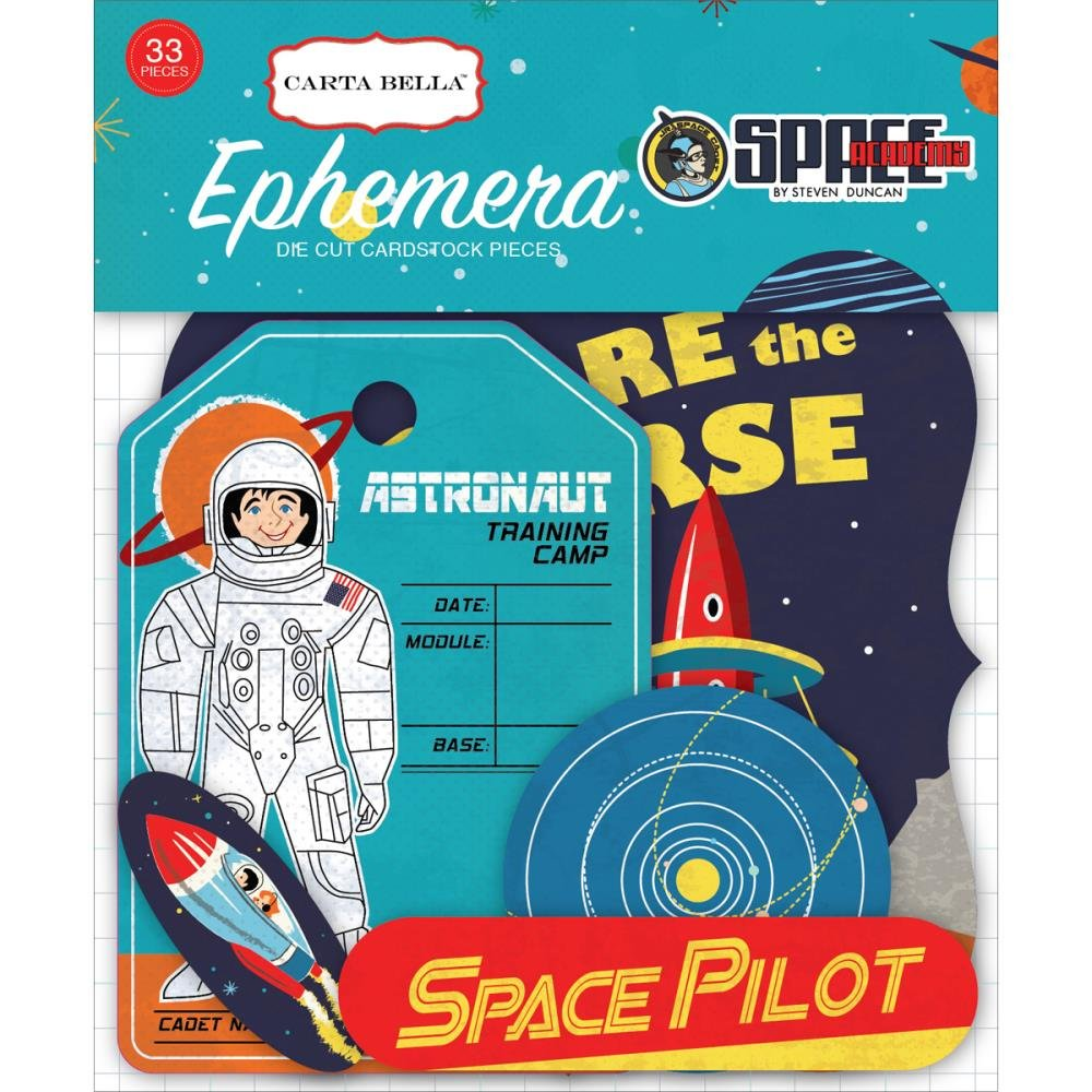 SPACE ACADEMY - Ephemera