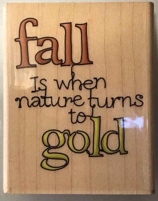 FALL IS WHEN...