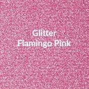 Vinyl - Heat Transfer - Glitter - Flamingo Pink - 12 x 20