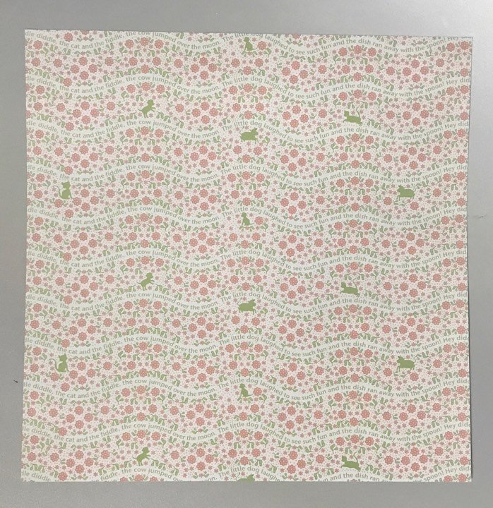 Baby Clothes Floral Borders