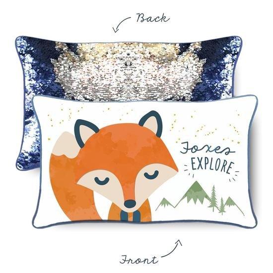 Mermaid Pillow - FOXES EXPLORE
