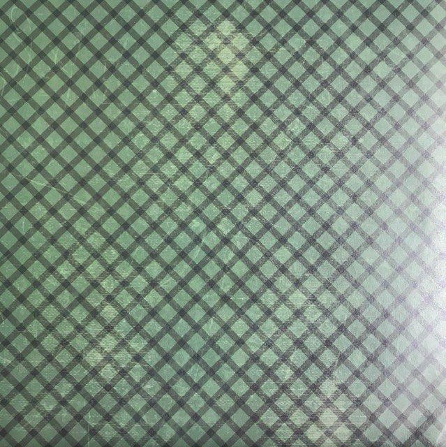 AUTUMN MORNING - Green Plaid