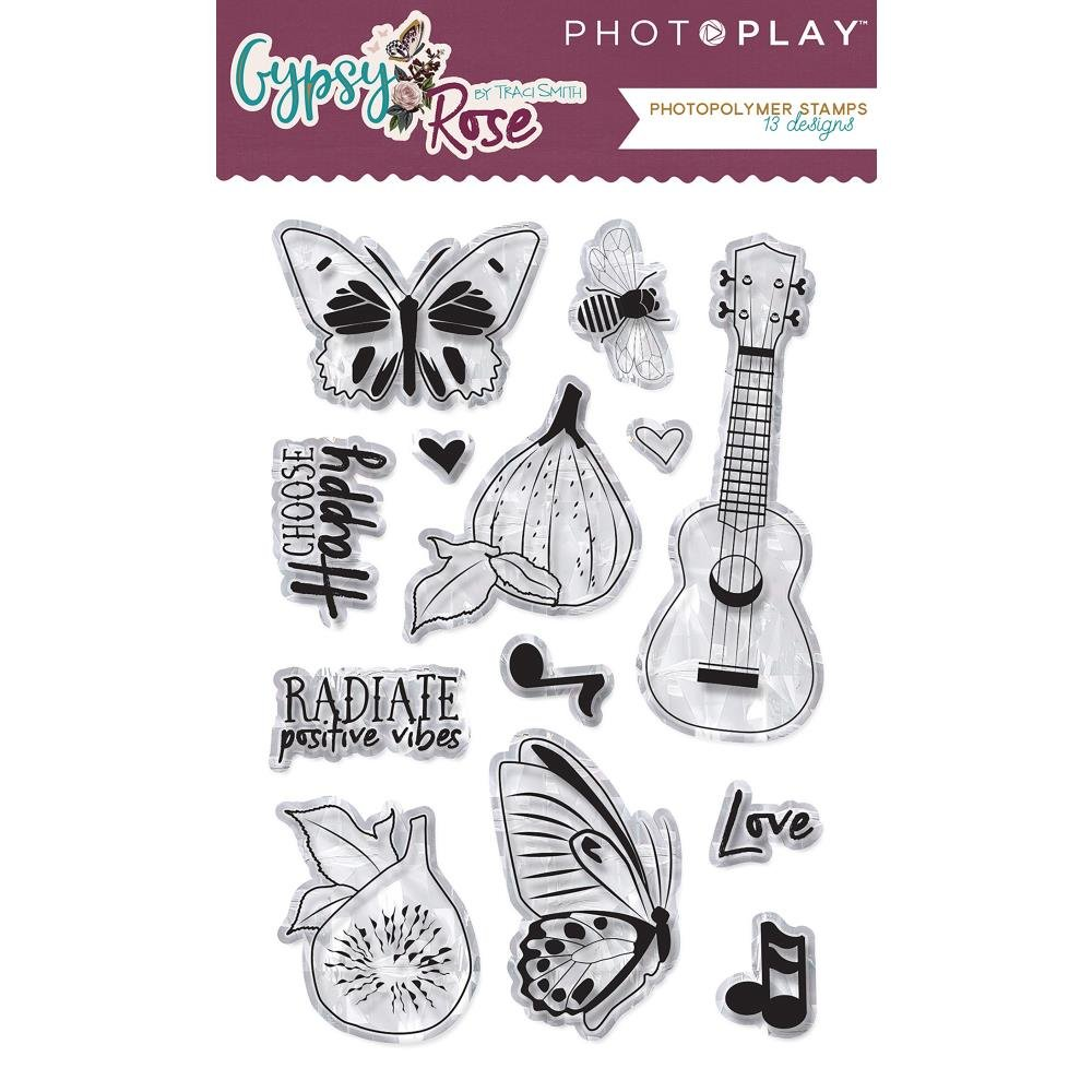 GYPSY ROSE - Stamps