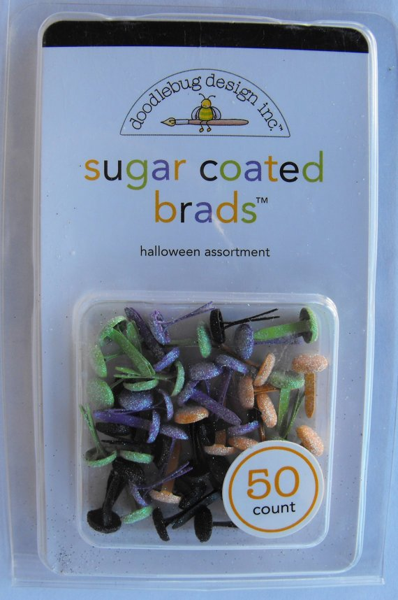 SUGAR COATED BRADS- HALLOWEEN