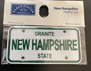 STATE PLATE - NEW HAMPSHIRE