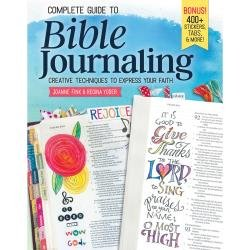 BIBLE JOURNALING - Creative Techniques to express your Faith