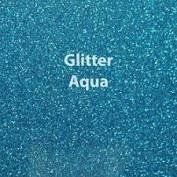 Vinyl - Heat Transfer - Glitter Aqua