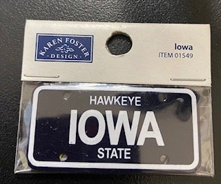 STATE PLATE - IOWA