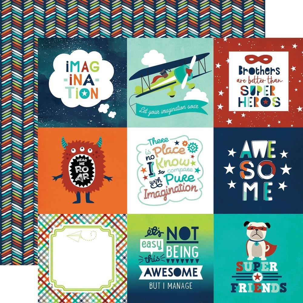 IMAGINE THAT! BOY - 4x4 Journaling Cards