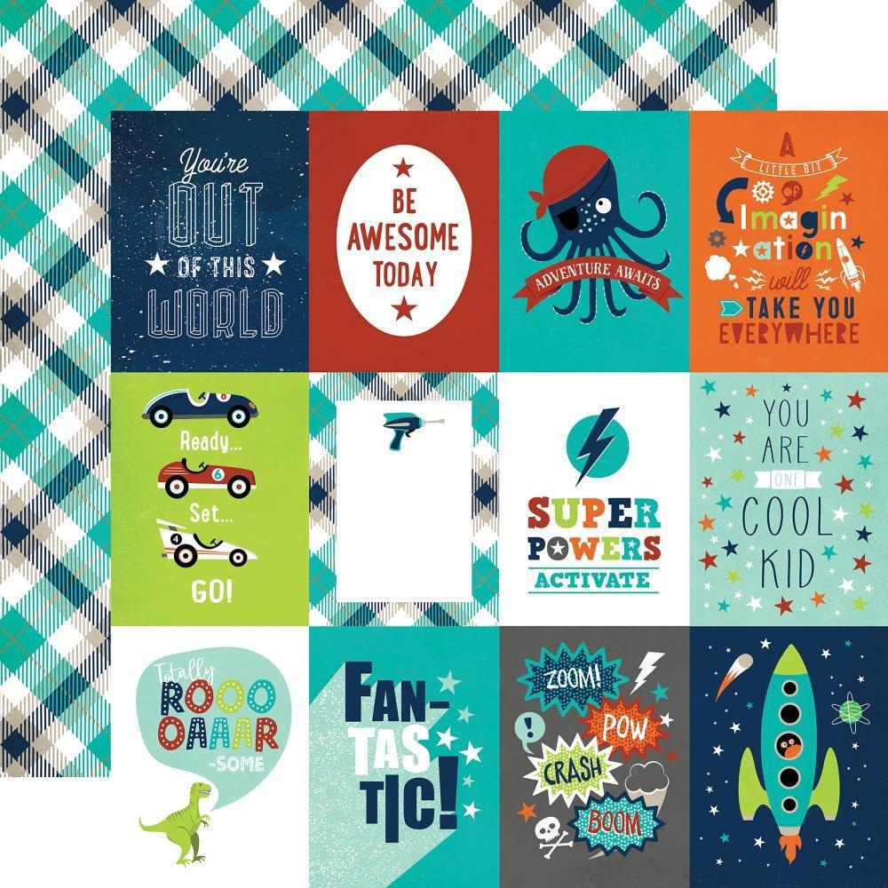IMAGINE THAT! BOY - 3x4 Journaling Cards