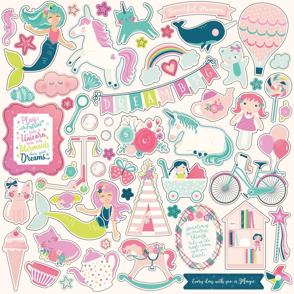IMAGINE THAT! GIRL - Element Stickers