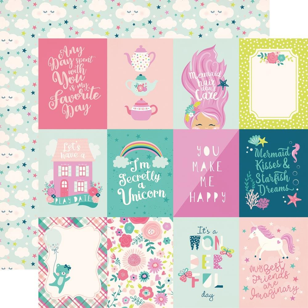 IMAGINE THAT! GIRL - 3x4 Cards