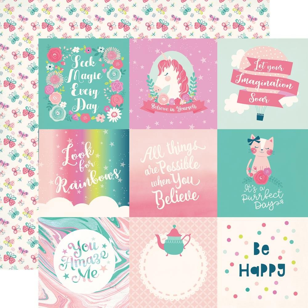 IMAGINE THAT! GIRL - 4x4 Cards